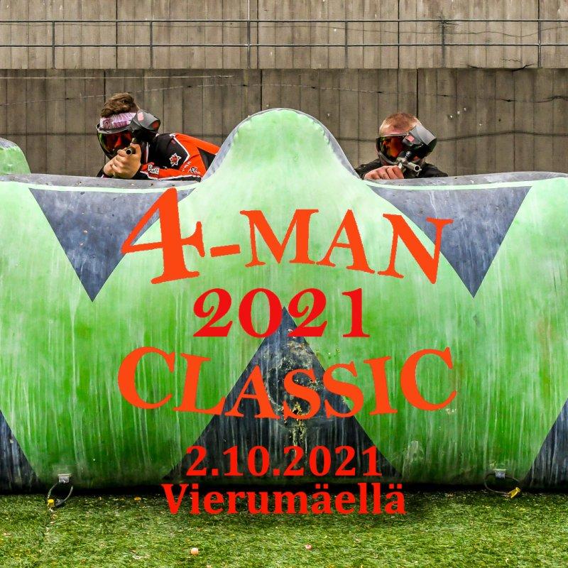 4-man Classic kisakauden päätökseksi 2021