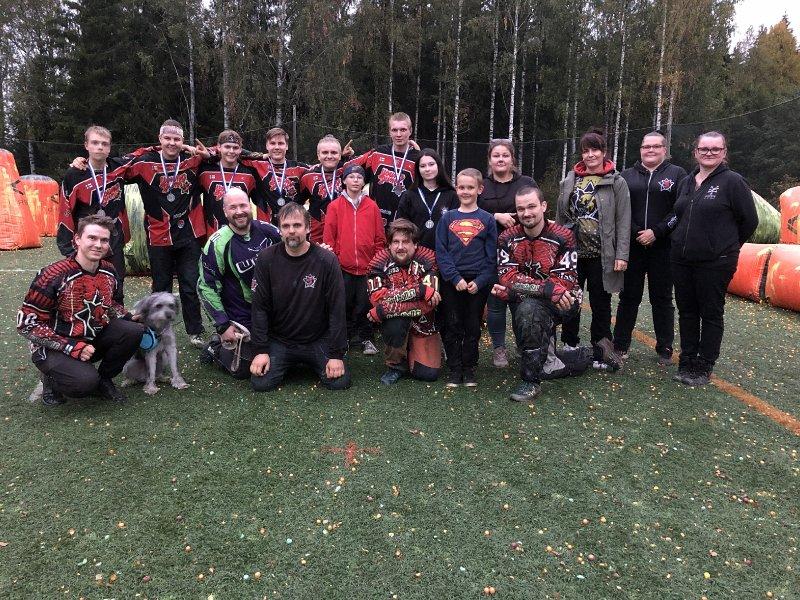 Suomen Paintball-liiton kausi 2021 päätökseen Pirkkalassa